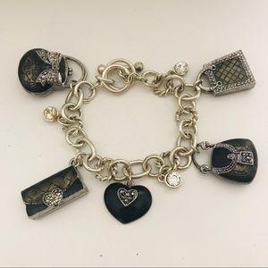 ⭐️NEW⭐️Vintage Silver Enamel Fashion Bracelet